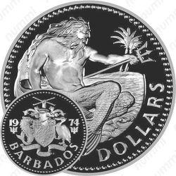 10 долларов 1974