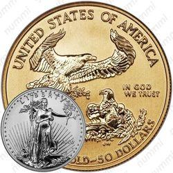 50 долларов 2006, американский орёл