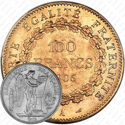 100 франков 1906