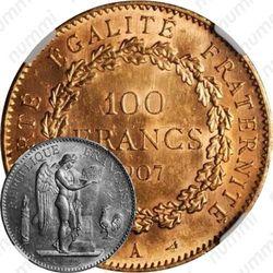 100 франков 1907