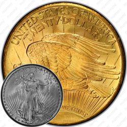 20 долларов 1929, двойной орёл