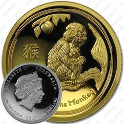 100 долларов 2016, год обезьяны