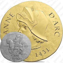 200 евро 2016, Жанна д'Арк