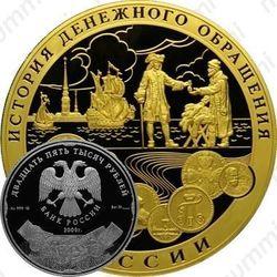 25000 рублей 2009, денежное обращение