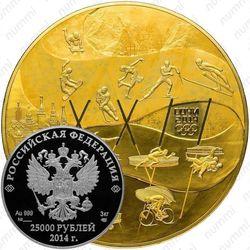 25000 рублей 2014, олимпийское движение
