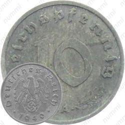 10 рейхспфеннигов 1940, Третий рейх