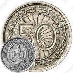 50 рейхспфеннигов 1931