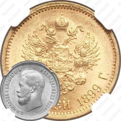 10 рублей 1899, ФЗ