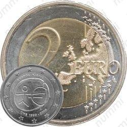 2 евро 2009, 10 лет союзу (Кипр)