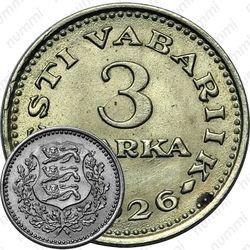 3 marka 1926