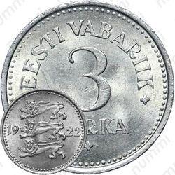 3 marka 1922