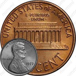 1 цент 1977