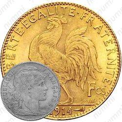 10 франков 1914