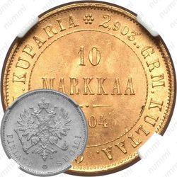 10 марок 1904, L