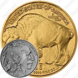 5 долларов 2008, буффало