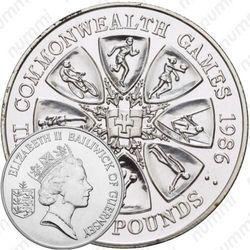 2 фунта 1986, Игры Содружества наций