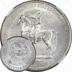 1 доллар 1900, Лафайет доллар