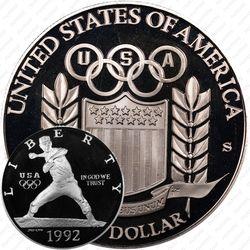 1 доллар 1992, Олимпиада в Барселоне