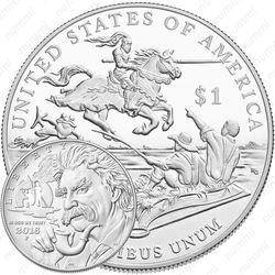 1 доллар 2016, Марк Твен