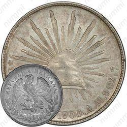 1 песо 1900