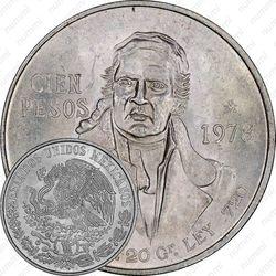 100 песо 1978