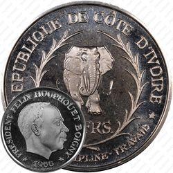 10 франков 1966, Союз, Дисциплина, Работа