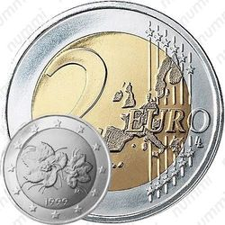 2 евро 1999, M