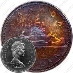 1 доллар 1972, серебро