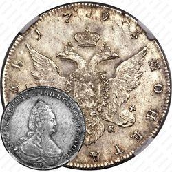 1 рубль 1795, СПБ-TI-АК