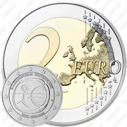 2 евро 2009, 10 лет союзу (Германия)