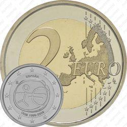 2 евро 2009, 10 лет союзу (Испания)