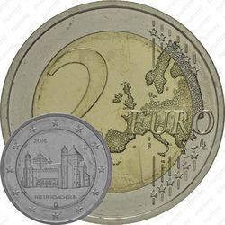 2 евро 2014, церквь Св. Михаила