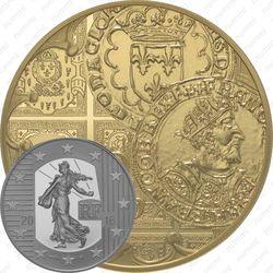 50 евро 2016, сеятельница