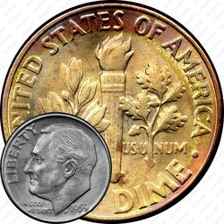 10 центов 1959