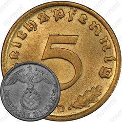 5 рейхспфеннигов 1939