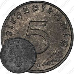 5 рейхспфеннигов 1944