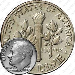 10 центов 1980