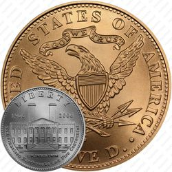 5 долларов 2006, Старый монетный двор Сан-Франциско