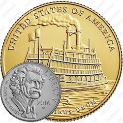 5 долларов 2016, Марк Твен