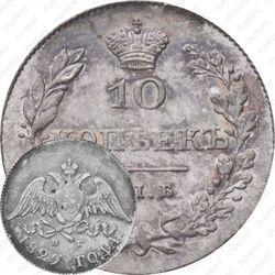 10 копеек 1829, СПБ-НГ