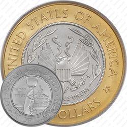 10 долларов 2000, библиотека Конгресса