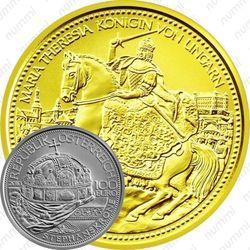 100 евро 2010, Корона святого Стефана