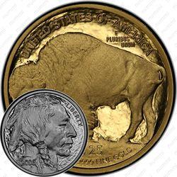 25 долларов 2008, буффало