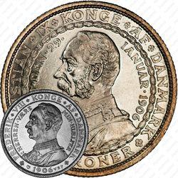 2 кроны 1906, Кристиан IX - Фредерик VIII