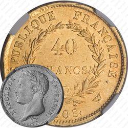 40 франков 1808
