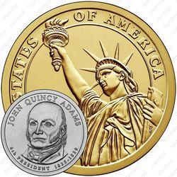 1 доллар 2008, Джон Куинси Адамс
