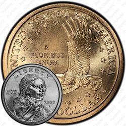 1 доллар 2008, Сакагавея