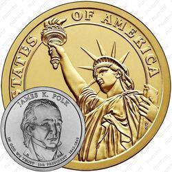 1 доллар 2009, Джеймс Полк