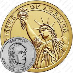 1 доллар 2009, Джон Тайлер