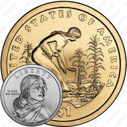 1 доллар 2009, Сакагавея